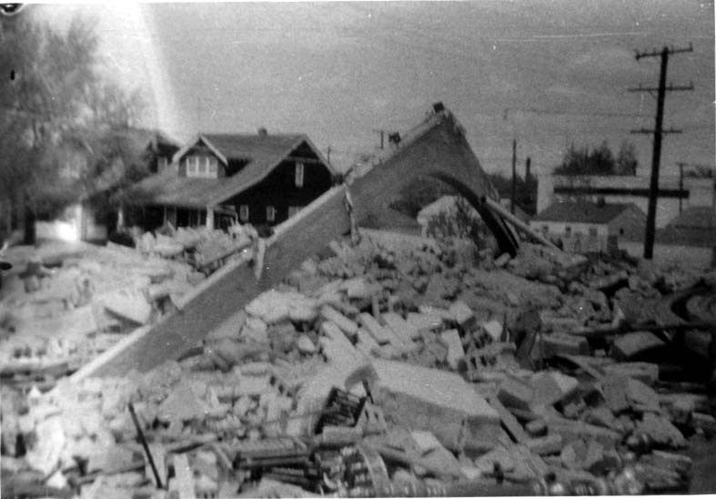 St. George Church Leveled by Tornado